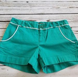 Banana Republic teal shorts